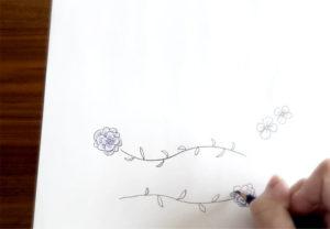 ハナヨウヒン 花のイラスト ホーム