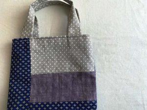 刺し子織りバッグ